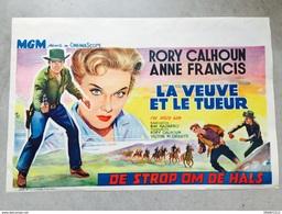 """La Veuve Et Le Tueur""""Rory Calhoun,Anne Francis Ray Navarro (western Cowboys ,chevaux) - Affiches & Posters"""