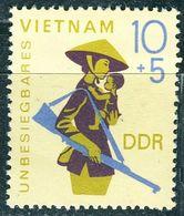 DDR - Mi 1371- ** Postfrisch (D) - 10+45Pf         Unbesiegbares Vietnam II 68 - Nuovi