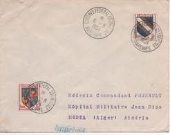 Enveloppe - Flamme MARENNES - CHARENTE-MARITIME - 6/8/1954 - Annullamenti Meccanici (pubblicitari)