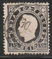 PORTUGUESE INDIA Scott # 174 Used - King Luiz - Inde Portugaise