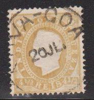 PORTUGUESE INDIA Scott # 175 Used - King Luiz - Inde Portugaise