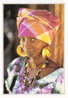 Gambie Portrait De Femme à Georgetown (2 Scans) - Gambia