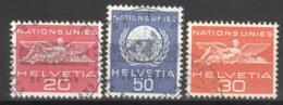 Schweiz ONU/UNO 28/30 O - Service