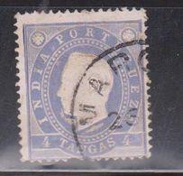 PORTUGUESE INDIA Scott # 179 Used - King Luiz - Inde Portugaise