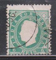 PORTUGUESE INDIA Scott # 176 Used - King Luiz - Inde Portugaise