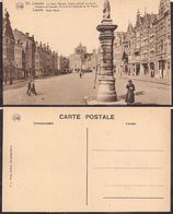 """Brabant Flamand - Louvain - La Vieux Marché. Centre Primitif Et Ancien """"forum"""" - Circa 1920 - Non Circulee - Cygnus - Leuven"""