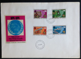 Guinea Conakry, Uncirculated FDC « Universal Postal Union », « U.P.U. », 1974 - Guinea (1958-...)