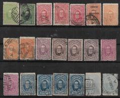 1912 Uruguay Artigas 21v Variedades - Uruguay