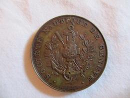 Suisse: Médaille De La Société Nautique De Genève (monoface) - Professionnels / De Société