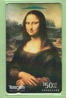 New Zealand - 1996 Art Collection $50 Mona Lisa - NZ-D-64 - Mint - New Zealand
