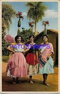 135983 PARAGUAY COSTUMES GALOPERAS DEL TRADICIONAL BAILE DE LA BOTELLA POSTAL POSTCARD - Paraguay