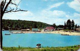 New York Adirondacks Old Forge Bathing Beach - Adirondack