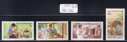 Laos - 1977 - Sc 283 - 286 - Silversmith - MNH - Laos