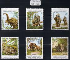 Laos - 1982 - Sc 355 - 360 - Indian Elephants - MNH - Elephants