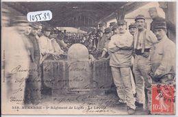 AUXERRE- 4 EME REGIMENT DE LIGNE- LE LAVOIR - Auxerre