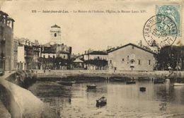 SAINT JEAN DE LUZ La Maison De L'Infante ,l'Eglise , La Maison Louis XIV RV - Saint Jean De Luz