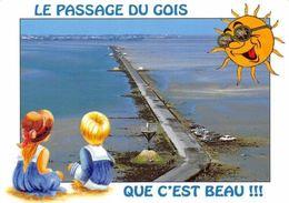 France Le Passage Du Gois Que C'Est Beau, Ile De Noirmoutier Road - France