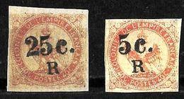 536 -  FRANCE - COLONIES - REUNION -  1900 - OVPT - FORGERIES, FALSES, FALSCHEN, FAKES, FALSOS - Collezioni (senza Album)