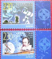 Kazakhstan  2009  Space, Astronomy ,Europa   2 V. MNH - Kasachstan