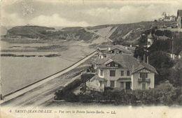 SAINT JEAN DE LUZ Vue Vers La Pointe Sainte Barbe Belles Villas 1er Plan RV    RV - Saint Jean De Luz