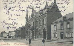 BRUGELETTE:: L'Hotel Communal - Cachet De La Poste 1907 - Brugelette