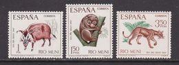RIO MUNI 1967 - Serie Completa Nueva Sin Fijasellos Edifil Nº 80/82 - MNH - - Ríu Muni