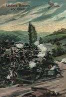 UNSERE BRAVEN VOR GIVET 1914/15 WWI WWICOLLECTION - Givet
