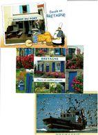 DIVERS BRETAGNE /  Lot De 90 Cartes Postales Modernes Neuves - Cartes Postales