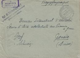 POW - Kgf: 1942 STALAG IVF Vertrauensmann In Die Schweiz - Non Classificati