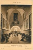 MUSEE DE LYON   GRANET  CHOEUR DE L'EGLISE DES CAPUCINS DE LA PLACE BARBERINE A ROME - Peintures & Tableaux