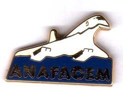 Pin's Concorde ANAFACEM   Zamac  Starpin's - Avions