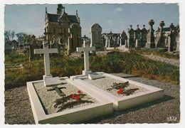 85 Mouilleron En Pareds N°128 Tombes Du Maréchal De Lattre De Tassigny Et De Son Fils VOIR DOS - Mouilleron En Pareds