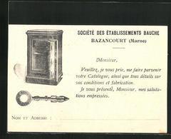 CPA Bazancourt, Société Des Établissements Bauche - Bazancourt