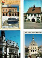 HÔTELS DE VILLE - MAIRIES /  Lot De 90 Cartes Postales Modernes Neuves - Cartes Postales