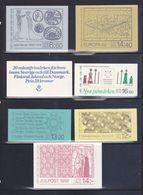 Svezia Libretti > 1982  7 Libretti Completi MNH ** - 1981-..