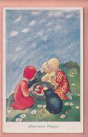 OLD POSTCARD - CHILDREN - MILI WEBER (1) - ED. VOUGA NR. 40 - 1900-1949