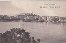 DESENZANO-BRESCIA-LAGO DI GARDA-VEDUTA GENERALE PRESA DAL VAPORETTO-CARTOLINA NON VIAGGIATA -ANNO 1920-1925 - Brescia