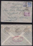 Brazil Brasil 1936 AIR FRANCE Censor Airmail Cover RIO To NÜRNBERG Germany - Briefe U. Dokumente