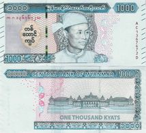 Myanmar 2020 - 1000 Kyat - Pick NEW UNC - Myanmar