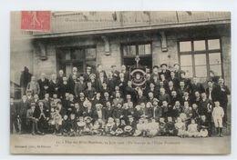 CPA 1906 LOIRE ST ETIENNE ANIME FETE DES MILLE MEMBRES OEUVRES OUVRIERES TBE - Saint Etienne