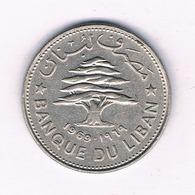 50 PIASTRES 1969 LIBANON /4811/ - Libanon