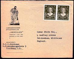Netherlands 1949 / Queen Juliana's Coronation (1948), Gravenhaage Athletics Club Hercules - Athlétisme