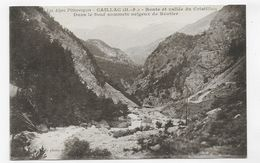 CAILLAC - ROUTE ET VALLEE DU CRISTILLAU - CPA VOYAGEE - France