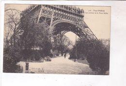 CPA DPT  75 PARIS LES JARDINS DE LA TOUR EIFFEL - Tour Eiffel