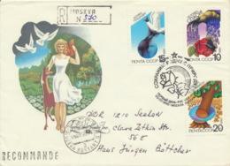 Sowjetunion 6043/45 Auf R-FDC Umweltschutz - FDC