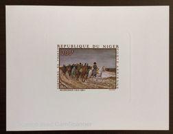 Niger - Epreuve De Luxe -poste Aérienne N 103 - Napoléon 1er - Campaggne De France - Meissonier 1815 - 1891 - Niger (1960-...)