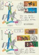 Sowjetunion 5984/88 Auf 2 R-FDC Zirkus - FDC