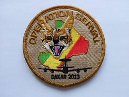 Patch 36ème Escadron De Détection Et De Contrôle Aéroportés – Opération SERVAL – Dakar 2013 - Ecussons Tissu