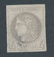 """DP-170A: FRANCE: Lot Avec """"BORDEAUX """" N°41B Obl Signé BRUN (clair Infime) - 1870 Emission De Bordeaux"""