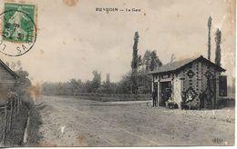 CPA La Gare Des Tramways De Ruaudin (72) - Altri Comuni
